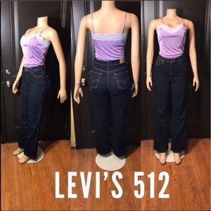 Levi's high Waistline  512 perfectly slimming EUC